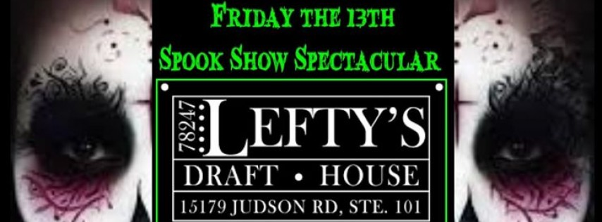 Cosmic Box Live at Lefty's Draft House Friday the 13th Spook Sho