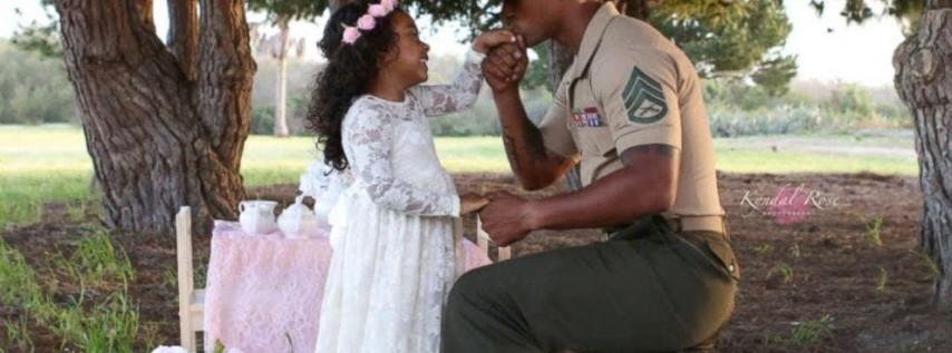 Daddy Daughter Tea Party-Tea N' Tiaras Fall 2019