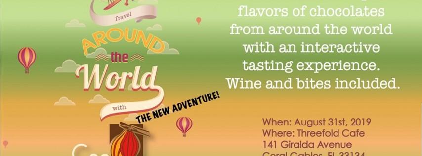 Travel around the world with Cao Chocolates - The New Adventure!