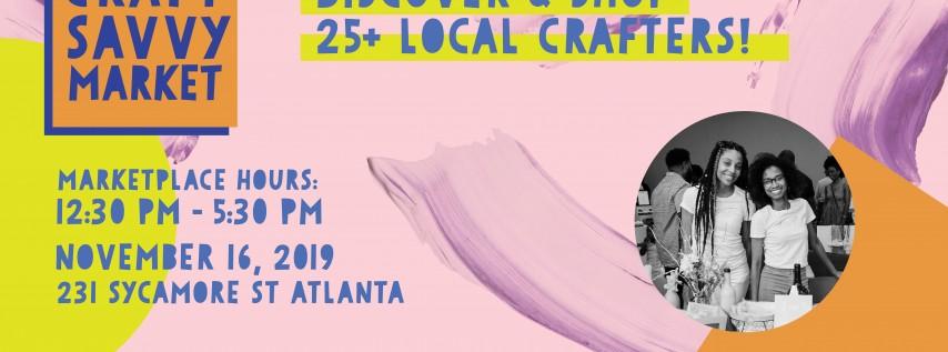 Craft Savvy Market Fall 2019