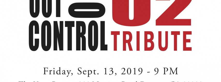 Out Of Control - A U2 Tribute Live at The Vista Room