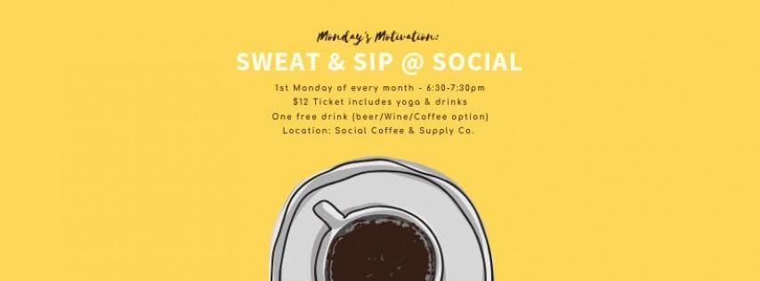 Sweat & Sip at Social Coffee