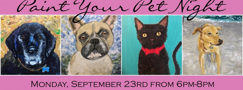 Paint Your Pet Night with Gogh Create