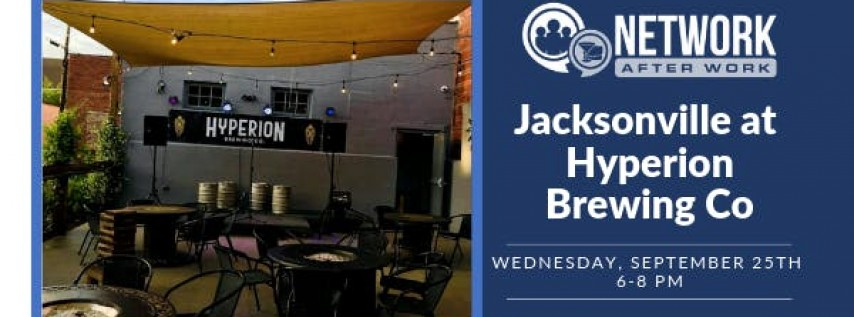 Network After Work Jacksonville at Hyperion Brewing Company
