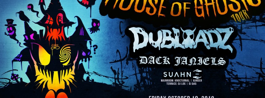 We The Plug Presents: The House of Ghosts Tour Ft. DUBLOADZ at Myth 10.18