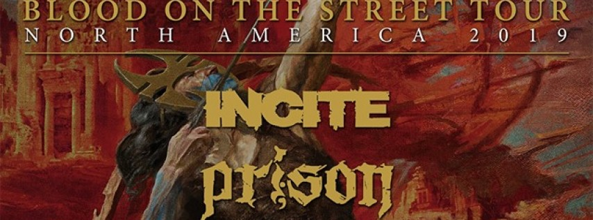Soulfly, Incite, Prison and more at Barracuda in Austin!