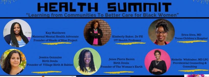 Black Maternal Health Summit