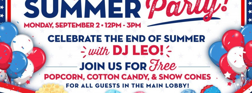 So Long Summer Party at Casino Miami on Labor Day Weekend!
