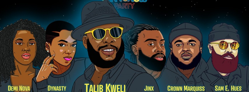 Obknoxious Concert ft. Talib Kweli and Caleborate