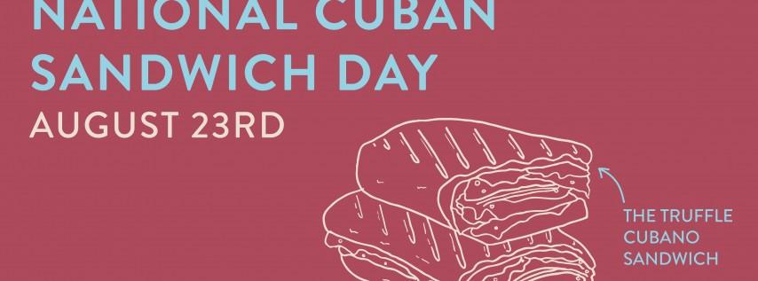 National Cuban Sandwich Day!