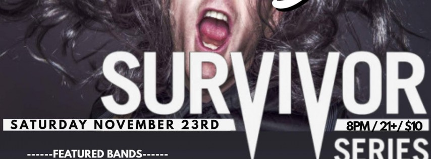 Battle of the Bands - Survivor Series Holiday Food Drive