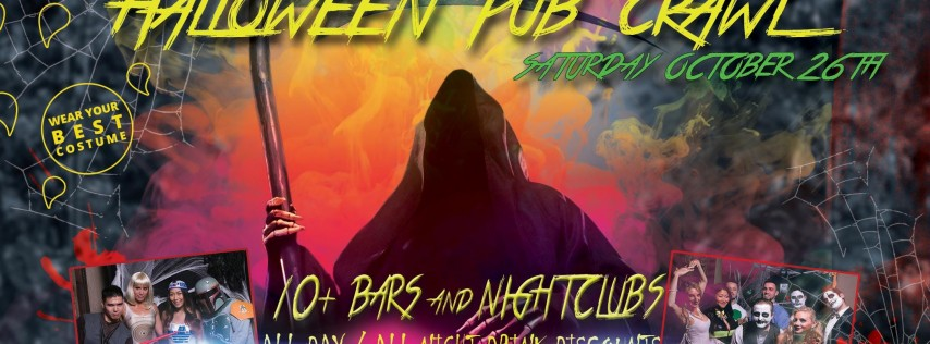 PACIFIC BEACH SATURDAY HALLOWEEN PUB CRAWL - Oct 26th