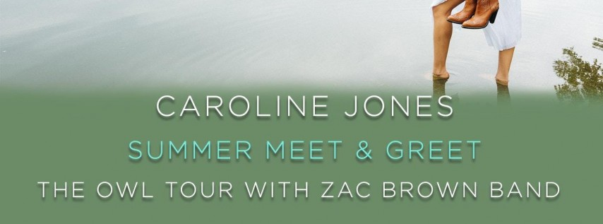 Caroline Jones - Meet & Greet