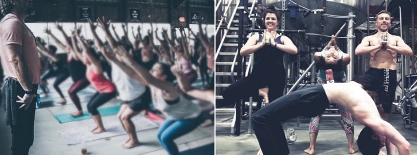 Stretch & Connect: Yoga at Tailgate Brewery