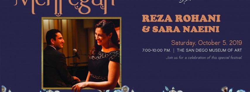 Mehregan Fall Fete with Reza Rohani & Sara Naeini