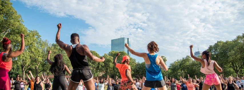 River Fit: Zumba led by Healthworks at the Hatch Shell