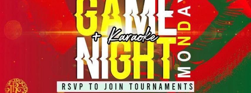 Game Night + Karaoke Monday