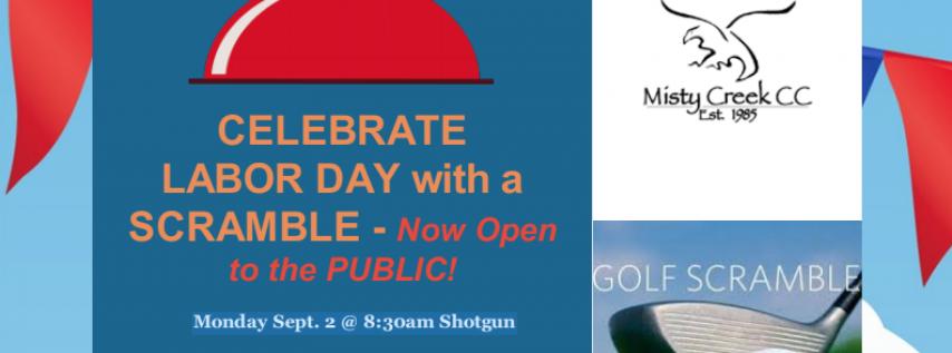 Celebrate Labor Day with a Scramble!