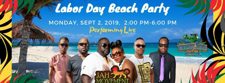 Labor Day Beach Reggae Party w/ Jah Movement