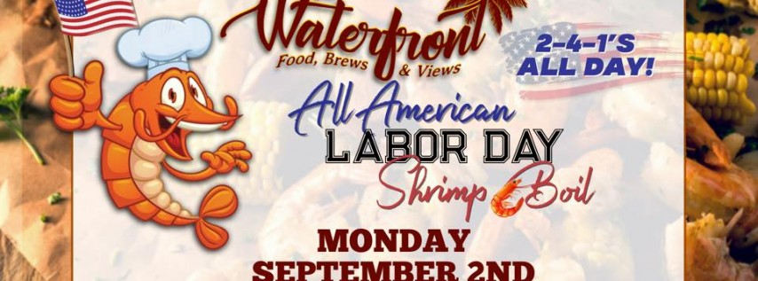All American Labor Day Shrimp Boil