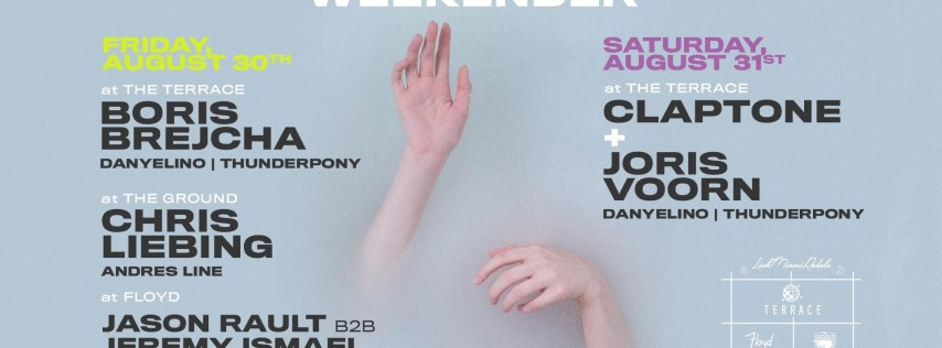 Labor Day Weekender Pass at Club Space