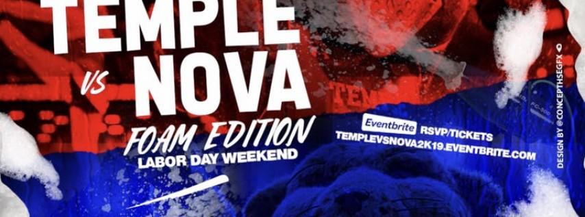 Temple vs Nova | FOAM Ed. | Labor Day Wknd
