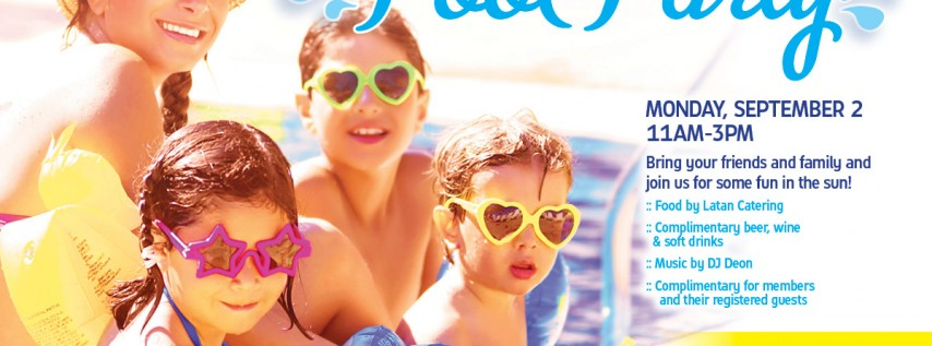 Harbour Island Athletic Club & Spa Pool Party on Labor Day!