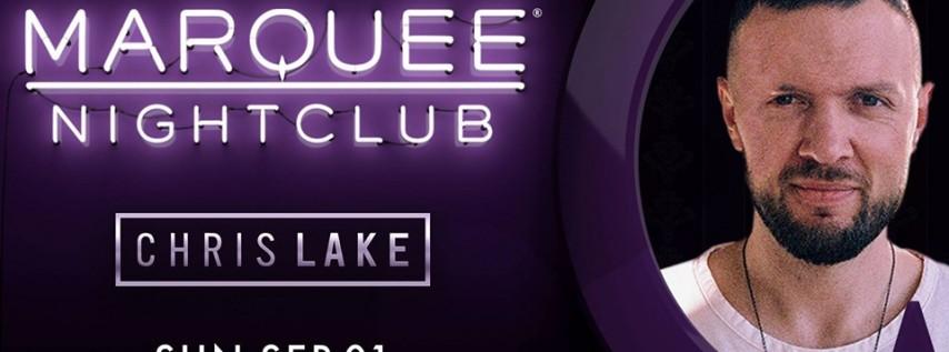 Marquee Nightclub - Chris Lake