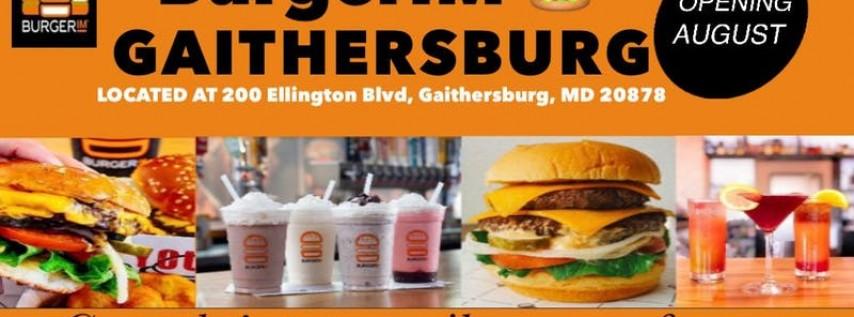 BurgerIM Crown Gaithersburg opens in August 2019