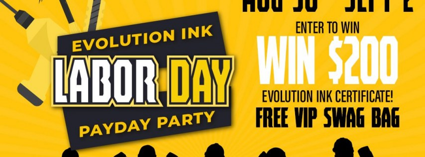 Labor Day Payday Party!