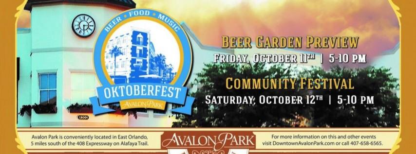 Oktoberfest at Avalon Park
