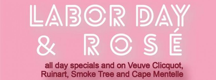 Labor Day Rosé Party