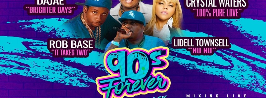 90s Forever: Crystal Waters & Rob Base at Concord Music Hall