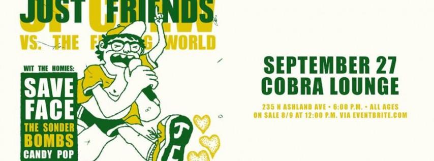 Just Friends - Cobra Lounge - 9/27/19