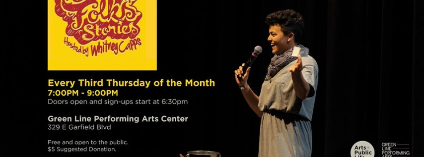 Grown Folks Stories at Green Line Performing Arts Center
