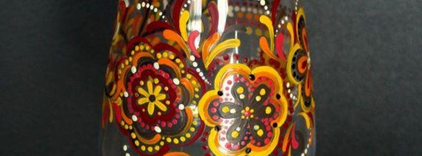 Fall Wine Glass Painting Event