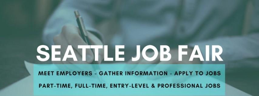 Seattle Job Fair - September 17, 2019 Job Fairs & Hiring Events in Seattle...