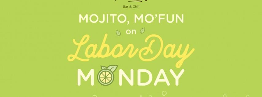 MOJITO MO'FUN on LABOR DAY MO'NDAY at thedeck
