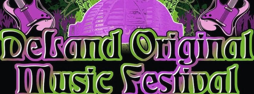 19th Annual DeLand Original Music Festival