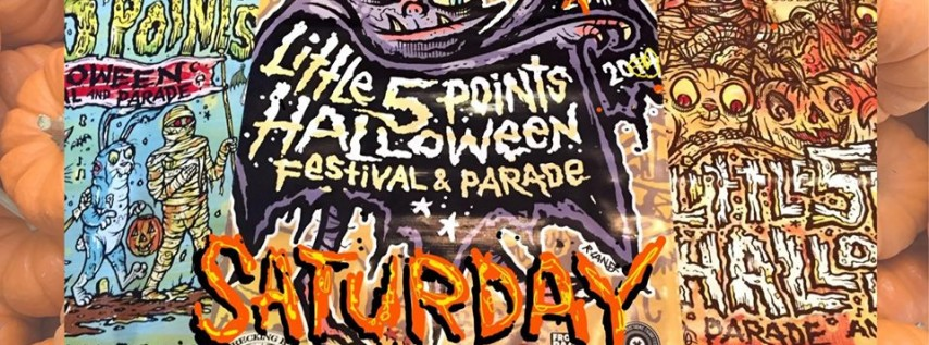 18th Annual Little 5 Points Halloween Festival & Parade