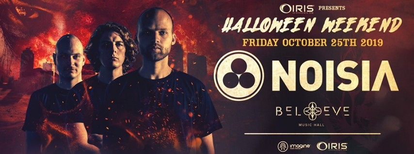 Noisia - Halloween Weekend! IRIS ESP 101 Friday October 25