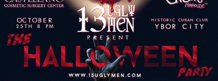 13 Ugly Men Annual Halloween Party