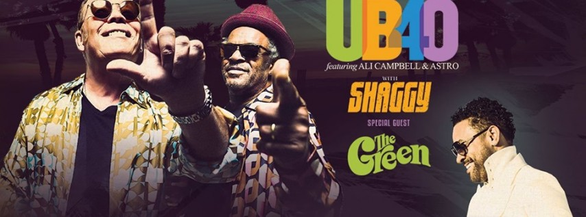 UB40 featuring Ali Campbell and Astro & Shaggy 40th Anniversary Tour