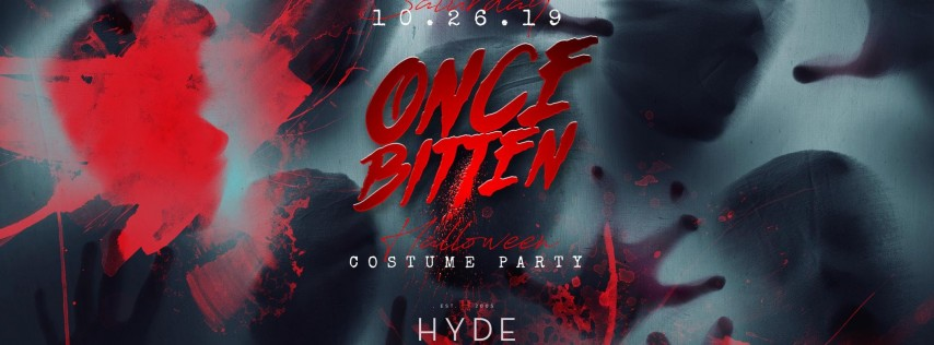 Once Bitten Halloween Costume Party