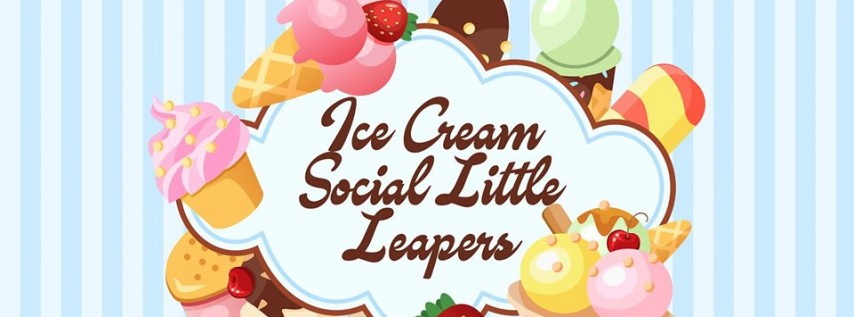 Ice Cream Social Little Leapers