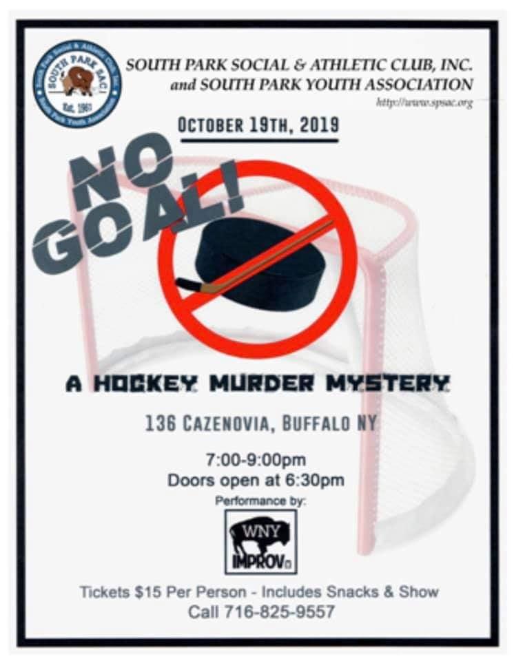 No Goal, a Hockey Murder Mystery