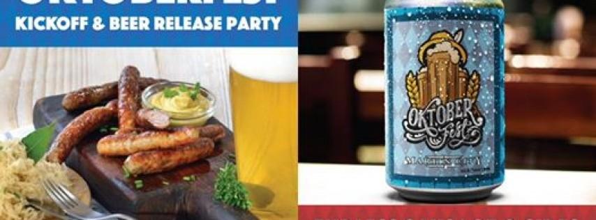 Oktoberfest Kickoff & Beer Release Party