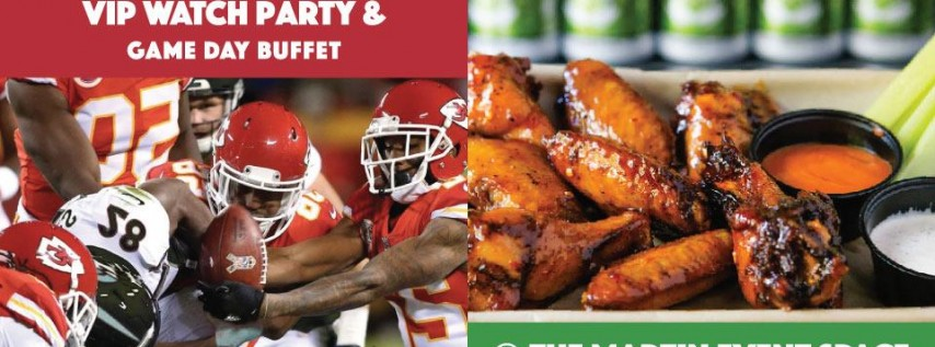 Chiefs vs. Raiders Watch Party with Game Day Buffet