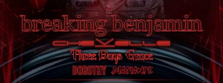 KBER 101 presents Bearfest 2019 Breaking Benjamin