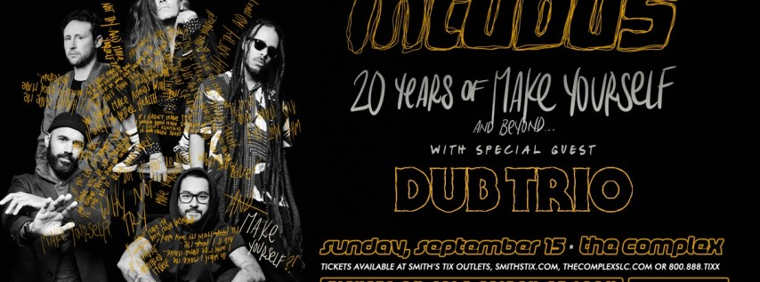 Incubus: 20 Years of Make Yourself & Beyond at The Complex